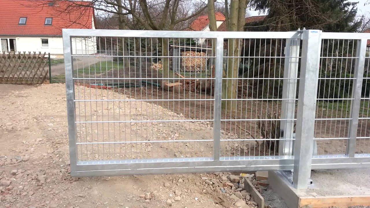 Oschersleber Metall u Zaunbau Schiebetore