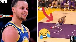 STEPHEN CURRY NEW FUNNY MOMENTS  2019