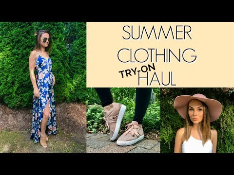 HUGE SUMMER CLOTHING HAUL!! Forever21, Aritiza, Target