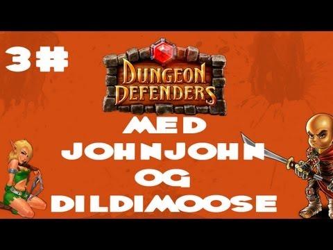 Dungeon Defenders med Dildimoose og JohnJohn - 3# Dildi er røv dårlig til oooohaeee