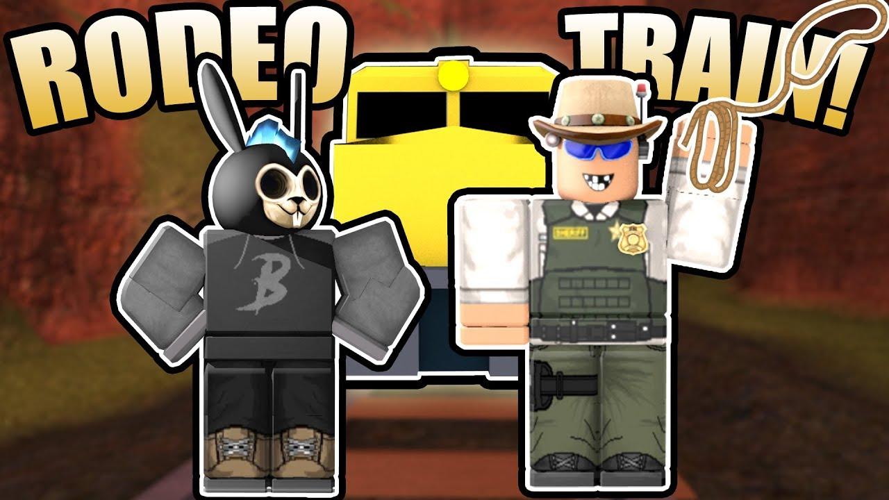 Rodeo Train Roblox Jailbreak Youtube