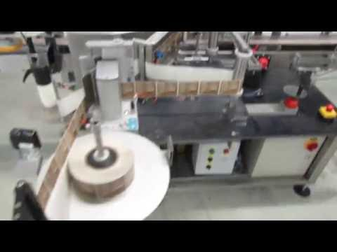 CLI front and back labeler with wrap around model UNI-510