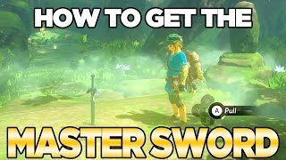 How To Get The Master Sword in Breath of the Wild | Austin John Plays