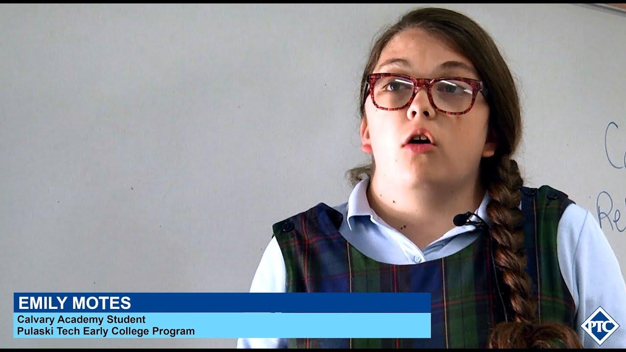 pulaski tech early college program emily motes pulaski tech early college program emily motes