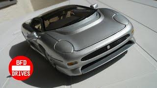 Jaguar Xj220 (1992) 🚗 in 1:18 🚘 by Maisto
