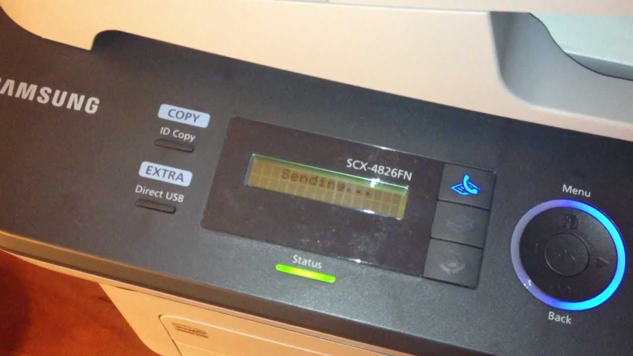 Howto Send Fax Youtube Wiring Diagram Cannon Mx459