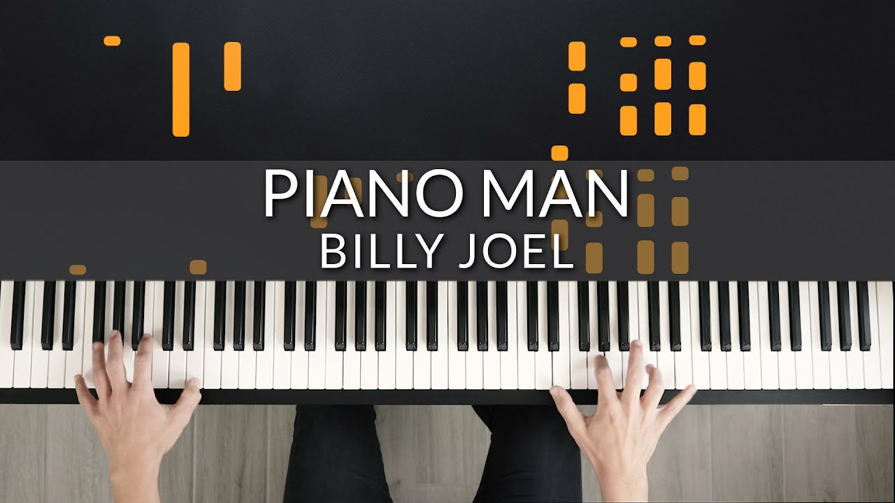 Billy Joel - Piano Man | Tutorial of my Piano Cover + Sheet Music