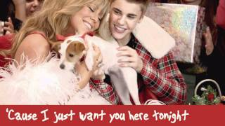 Mariah Carey ft. Justin Bieber - All I Want For Christmas Is You (lyrics)