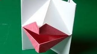 Origami Paper | How To Make Origami Talking Lips | Origami Talking Lips