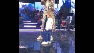 Владимир Пресняков и Наталья Подольская вывели двухлетнего сына на сцену