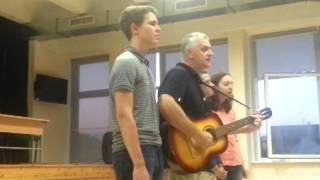 Шоу талантов - Песня гродненцев