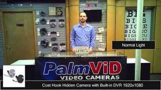 Coathook Dvr V5 Hidden Camera Coat Hook Hdtv 1080p Sample Video