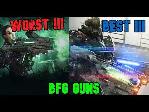Doom BFG's Guns Ranked From Worst To Best