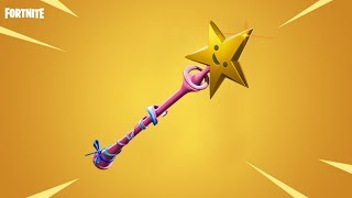 NEW STAR WAND PICKAXE FORTNITE ITEM SHOP UPDATE + LAGUNA STARTER PACK GAMEPLAY