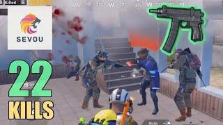 NEW WEAPON IS SUPER SPECIAL!!! | 22 KILLS | SOLO SQUAD | PUBG Mobile