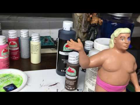 WWF LJN Adrian Adonis Cleaning and Repaint