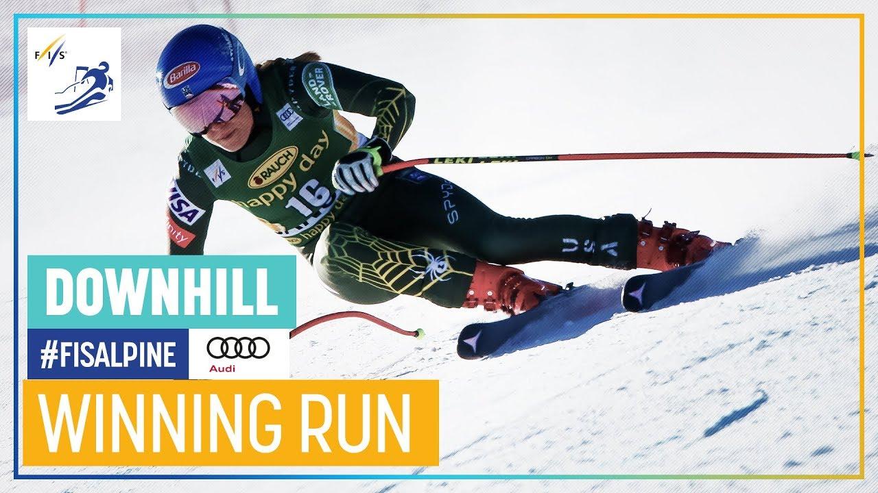 Mikaela Shiffrin   Women's Downhill   Bansko   1st place   FIS Alpine