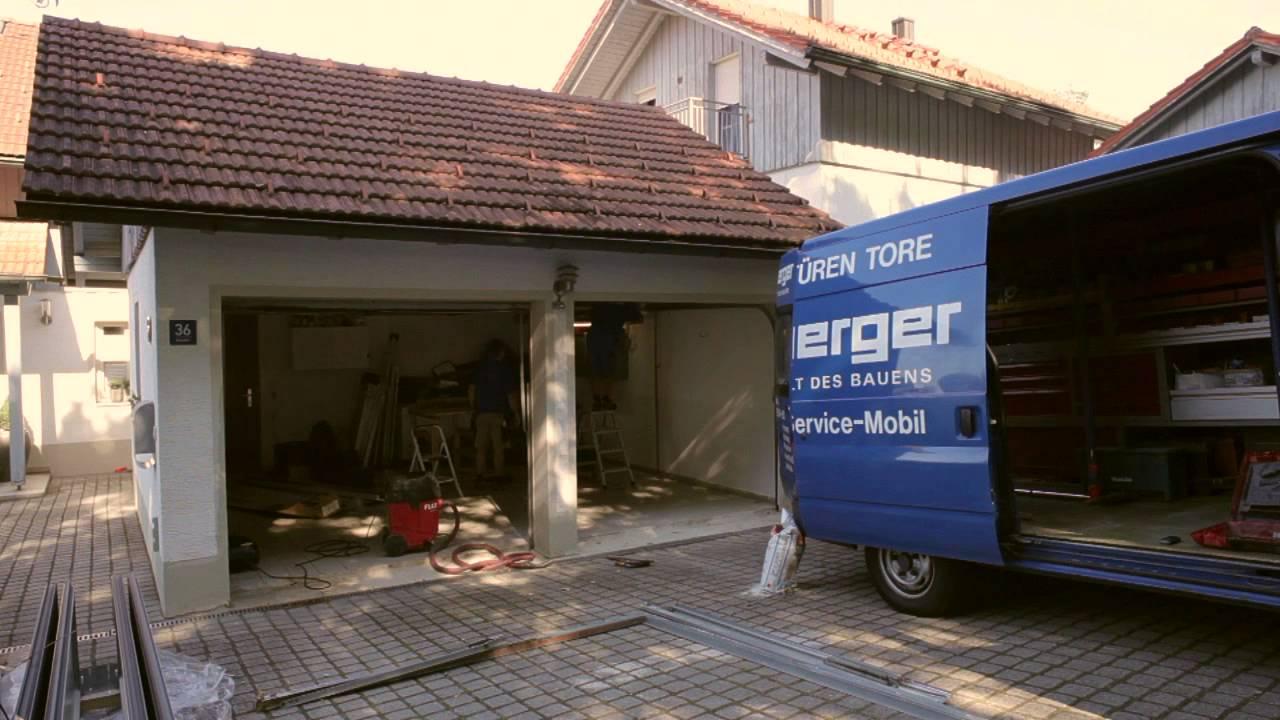 Garagentor Renovierung - Peter Kasberger Baustoff GmbH ...