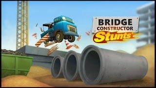 BRIGDE CONSTRUCTOR STUNS Gameplay Español - PC Max Settings 1080p HD 60fps