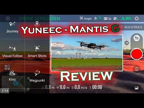 NEU: Yuneec Mantis G - Review + Erstflug + Fazit ✔️
