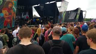 Sylar - Soul Addiction live @ The Vans Warped Tour 2017, Darien Lake, NY