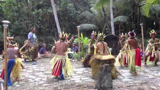 Yap Village Bamboo Stick Dancing- 46 sec