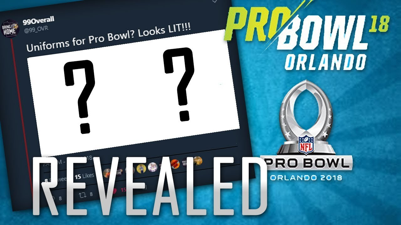 4e3bf413b55 2018 NFL PRO BOWL UNIFORMS REVEALED!! (Btw I'm Famous!) - YouTube