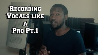 Download How to Record Vocals like a Pro Pt.1 Getting Set up By MrDifferentTV MP3 song and Music Video