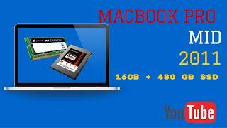 Test MacBook Pro Mid 2011-16GB SSD Os X El Capitan