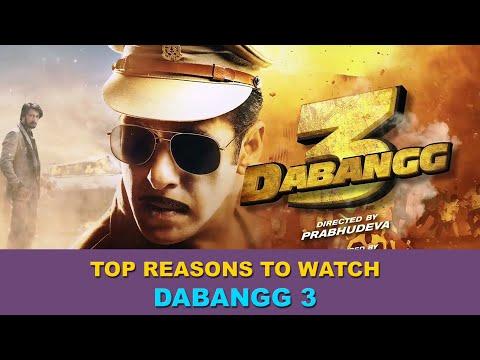 Dabangg 3   5 Big Reasons to watch   Salman Khan   Prabhu Deva   Bollywood Movie Reviews   Jubair