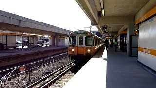 MBTA Orange Line: Oak Grove to Sullivan Square clips