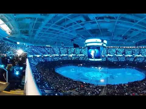 Sharks 2018 1st Round Playoffs Opening Show in 360°