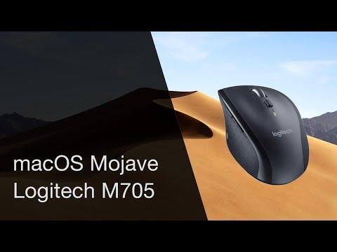 MacOS 10 14 Mojave: Logitech M705 settings - VidVui