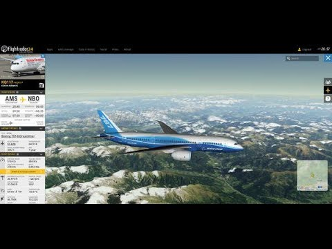 How to track live Air flights in 2017 (100% working)