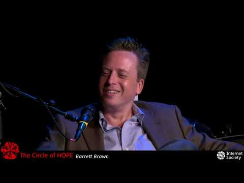 The Circle of HOPE (2018): Barrett Brown Onstage Interview