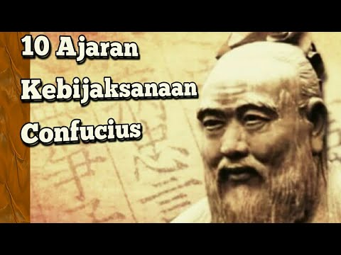 10 Ajaran Kebijaksanaan Confusius