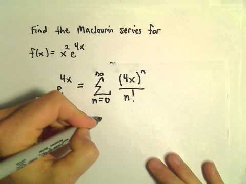 Finding a New Power Series by Manipulating a Known Power Series