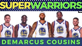 DeMarcus Cousins: Warriors na! Grabe na'ng Lakas ng Golden State