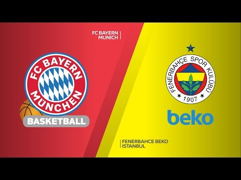 FC Bayern Munich - Fenerbahce Beko Istanbul Highlights   Turkish Airlines EuroLeague RS Round 21