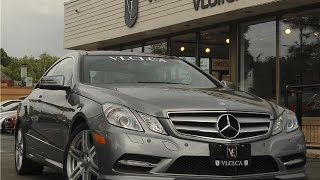 2012 mercedes benz e350 amg sport coupe in review village luxury cars toronto