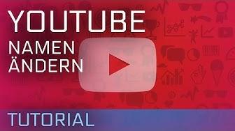 YouTube Nickname erstellen oder Namen ändern