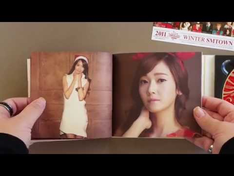 2011 SM Town Winter The Warmest Gift Unboxing