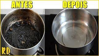 Deixe Sua Cozinha BRILHANDO Sem Fazer ESFORÇO! Truques RAPIDINHOS Para Facilitar a FAXINA!