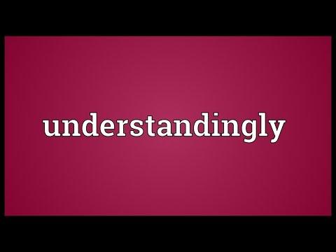 Header of understandingly