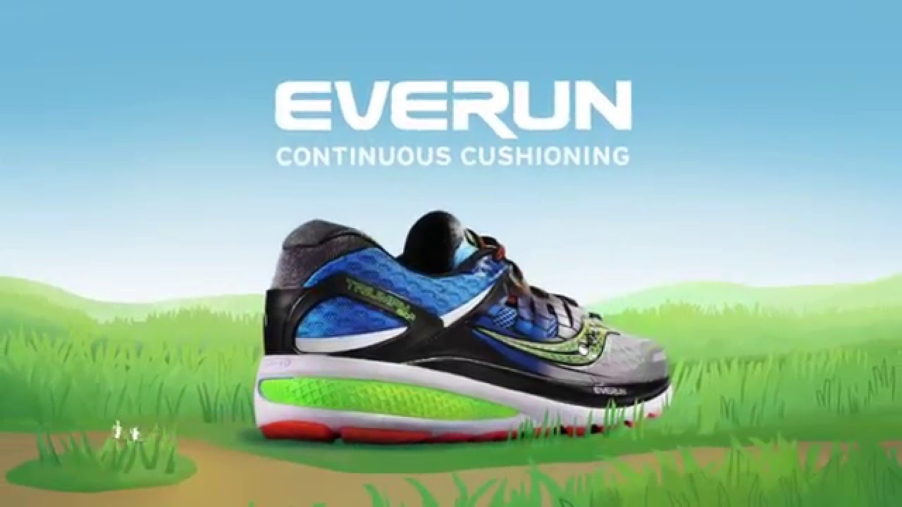 new arrival 7bd08 e35aa Saucony EVERUN running shoe cushioning technology