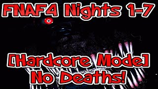 Nights 1-7 No Death Run - Five Nights At Freddy