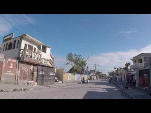 Haiti Les Cayes Centre ville, Gopro / Haiti Les Cayes City center, Gopro