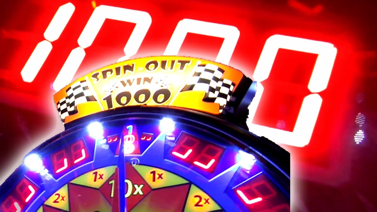 Spin Out Arcade Game Jackpot HUGE JACKPOT WIN! Arcade Nerd
