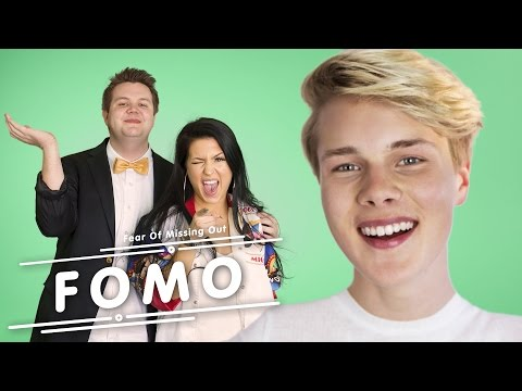 """Hook me up -I love you!"" | FOMO"