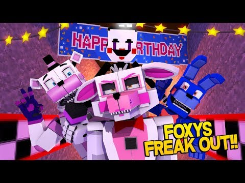 Minecraft Fnaf: Sister Location - Funtime Foxy Has Had Enough (Minecraft Roleplay)